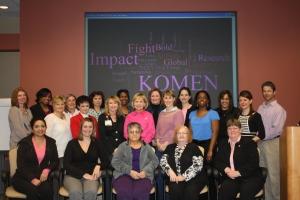 Past Komen local grant recipients