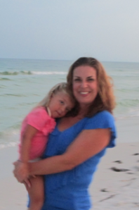 Olivia, age 3, and Kimberly Mann, age 41