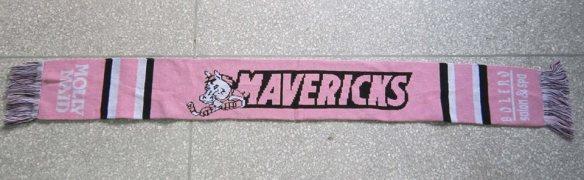 Pink Mavericks Scarf