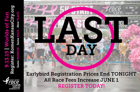 2015KomenKCRacePriceIncrease1Day
