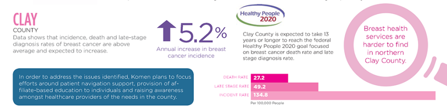 2015 #KomenKC Community Profile Targeted Counties - CLAY COUNTY
