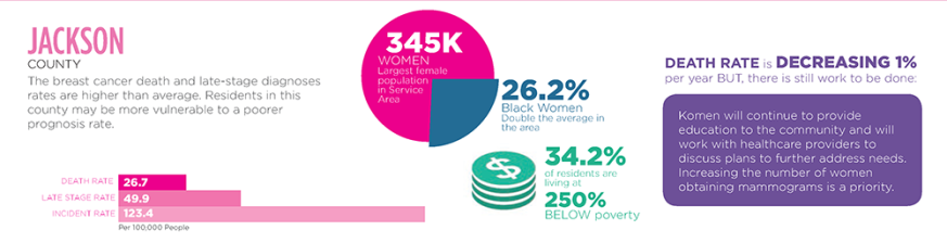 2015 #KomenKC Community Profile Targeted Counties