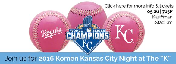 2016 Komen KC Night at The K - Web Banner