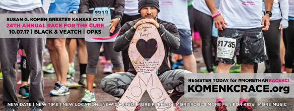 2017 Komen KC Race for the Cure Facebook Cover