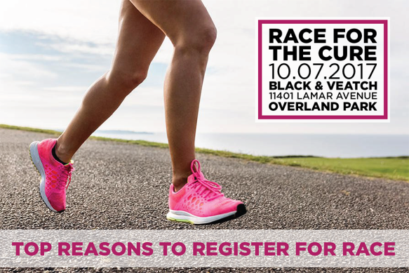 2017 Komen KC Race Top Reasons to Race