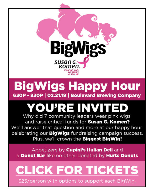 2019 bigwigs happy hour celebration invitation
